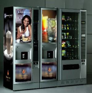 Установка торговых автоматов кофе и чая