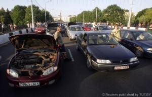 Акция «Стоп-бензин» прошла в Беларуси