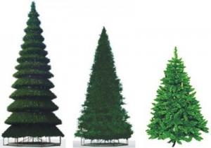 Продажа искусственных и живых новогодних елок как заработок