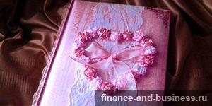 Оформление свадебных фотоальбомов и их продажа